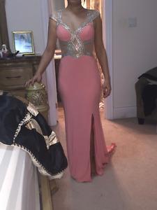 light pink evening/prom dress