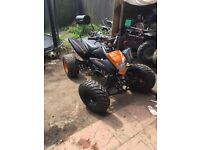Bashan road legal 08 plate quad