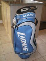 NFL Golf Bag -- Detroit Lions & LA Kings -- For Sale