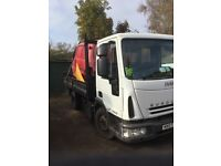 2007 euro cargo e16.7,5tn tipper lez London Px poss
