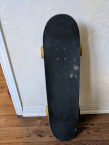 Carbon fiber skateboard with orangatang wheels