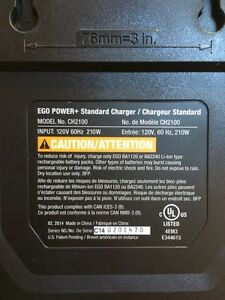 Brand New EGO POWER+ Standard Charger Peterborough Peterborough Area image 2