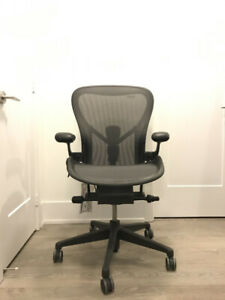 Completely Remastered Herman Miller Aeron Chair Size C