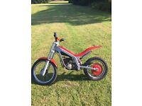 Beta 50cc Rev go junior trials bike