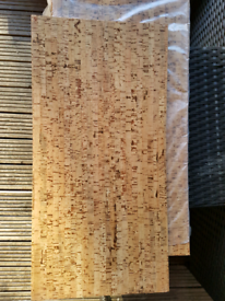 Natural Cork Wall and floor tiles