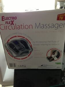 Electro Flex Circulation Massager Feet as seen on TV - Like NEW