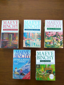 $2.00 paperback books from bestselling author Maeve Binchy