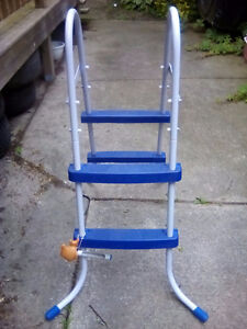 Best way 36 inch pool ladder with thermometer