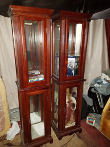 Curio Cabinets matching