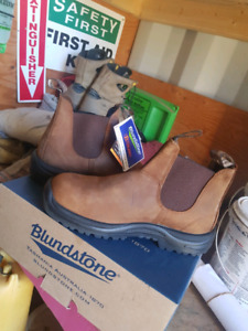 Blundstone CSA steel toed boots