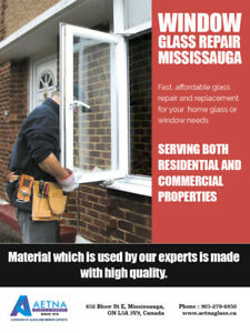 Window Glass Repair Mississauga