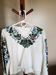 Ukrainian beaded shirt