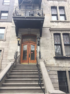 Downtown Montreal Townhouse for summer sublet