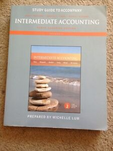MOS - Study guide for intermediate accounting London Ontario image 1