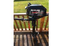 Suzuki 2.5hp Outboard