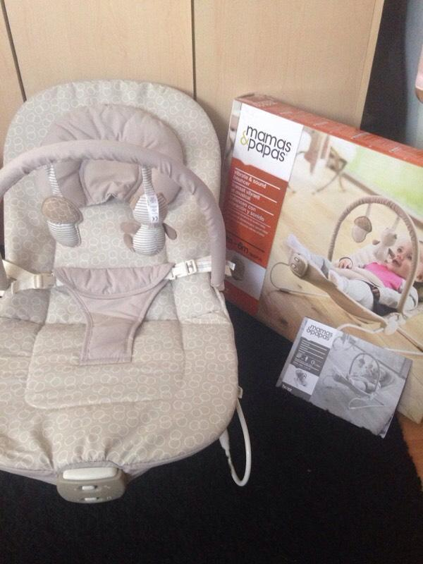 Mamas and papas baby bouncer in lenham kent gumtree for Door jumperoo