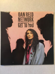 """DAN REED NETWORK """"Get To You"""" Vinyl 12"""" Single (1988)(33.3 RPM)"""