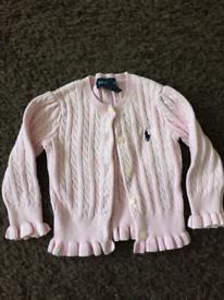 ** REDUCED TO GO** Pink Ralph Lauren cardigan