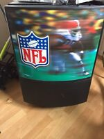 NFL light up Bar Fridge