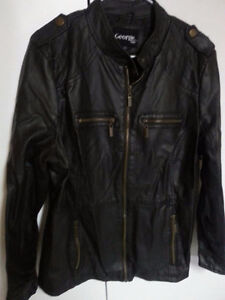 Leather Like Ladies Jacket