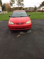 02 civic coupe WANT GONE TODAY
