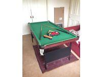Slate snooker/pool table