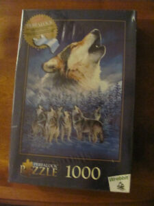 HOWLING WOLF PUZZLE