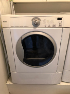 White KENMORE Front Load Dryer