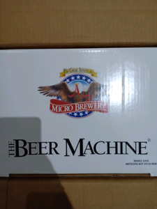 Beer micro brew beer kit, new in box