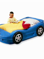 Toddler race car bed for sale