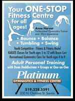 Your ONE-STOP FITNESS CLUB!!!!!