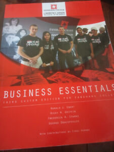 BUSINESS ESSENTIAL TEXTBOOK FOR FANSHAWE STUDENTS