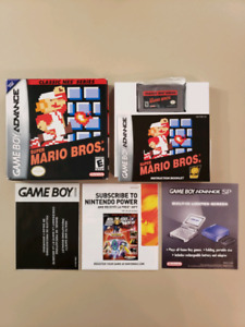 Super Mario Bros. Classic NES Series Game Boy Advance cib
