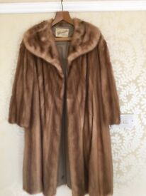 Vintage real Mink Coat