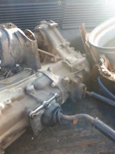 Toyota gear driven transfer case