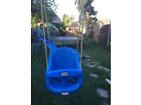 Outdoor child swing seat