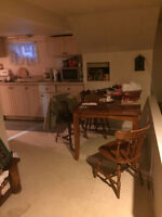One bedroom basement apartment Freshly Painted available Feb 1
