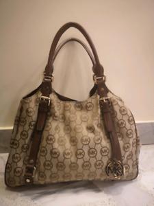 Michael Kors purse, monogram MK, handbag
