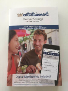2018 Entertainment Coupon Book Collection Great Vancouver BC