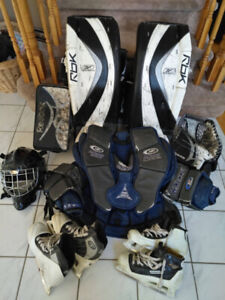 Used Hockey Goalie Equipment for Sale