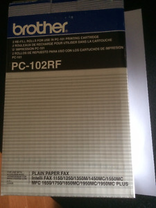 Brother Refill Rolls in PC-101 Printing Cartridge