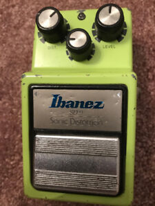 VINTAGE GUITAR PEDAL IBANEZ SD-9 SONIC DISTORTION