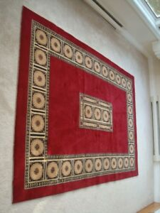 Red or Wine 5.5 x 7 Area Rug