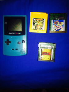 Game boy color + 3 jeux