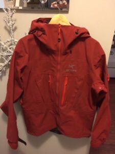 Goretex jacket arcteryx alpha sv color xblood
