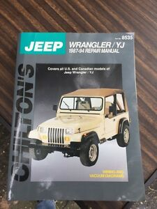 Jeep Chiltons book