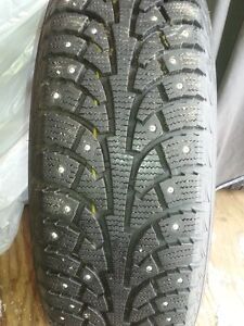4 Winter Studded Tires