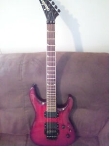 Guitare électrique Inverted Jackson Dinky EMG Floyd Rose