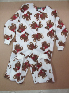 Women's PJ Onesy  Size M Super Soft & Warm Made in Canada