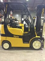 Yale Forklifts-Used/New Contact for Info